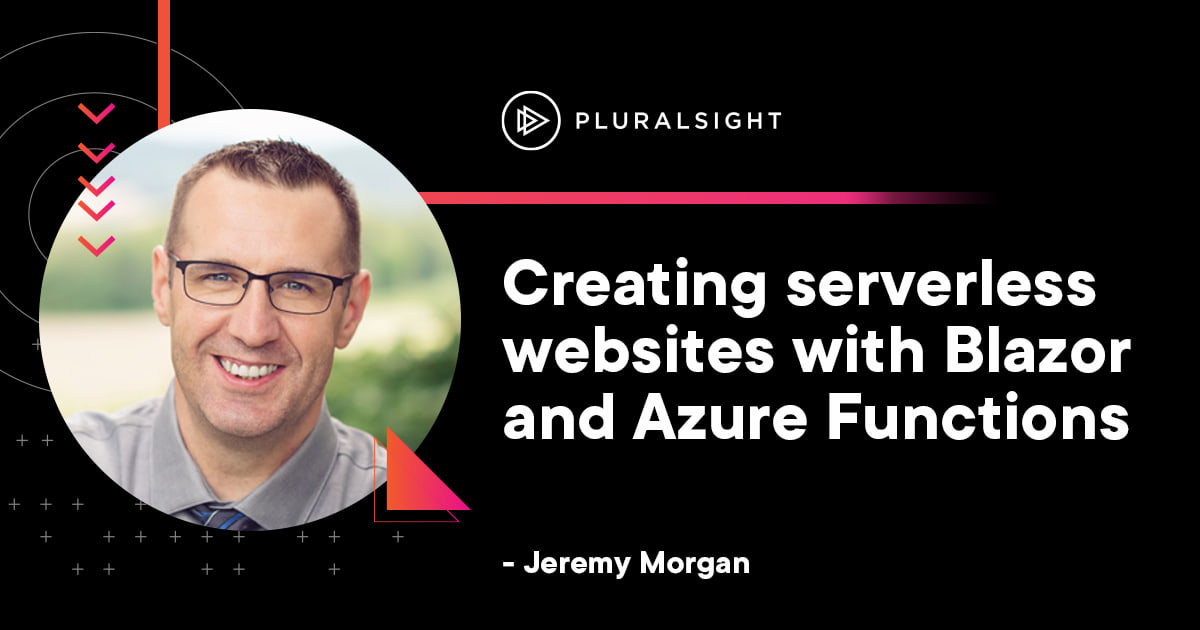 How to create serverless websites with Blazor and Azure Functions Part Two